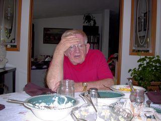 Grandpa Sam after Thanksgiving