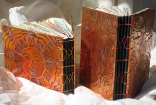 Coppe rRepousse' Journal spine